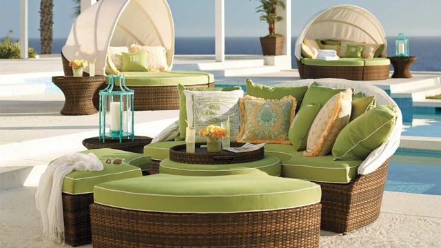 Emejing Salon De Jardin Lit Sofa Rond Pictures - Awesome Interior ...
