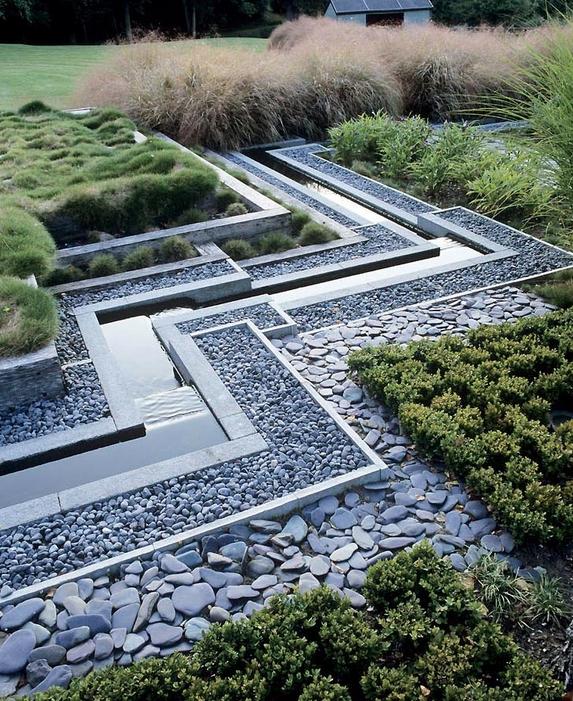 Bordure Jardin Avec Led | Aménagement Paysager Moderne 104 ...
