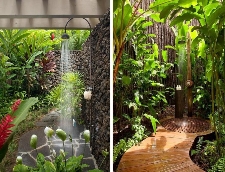 Design Exterieur Jardin Deco Idees Design Douche Jardin