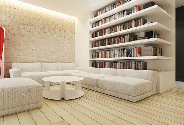 Maison contemporaine  comment choisir le mobilier salon
