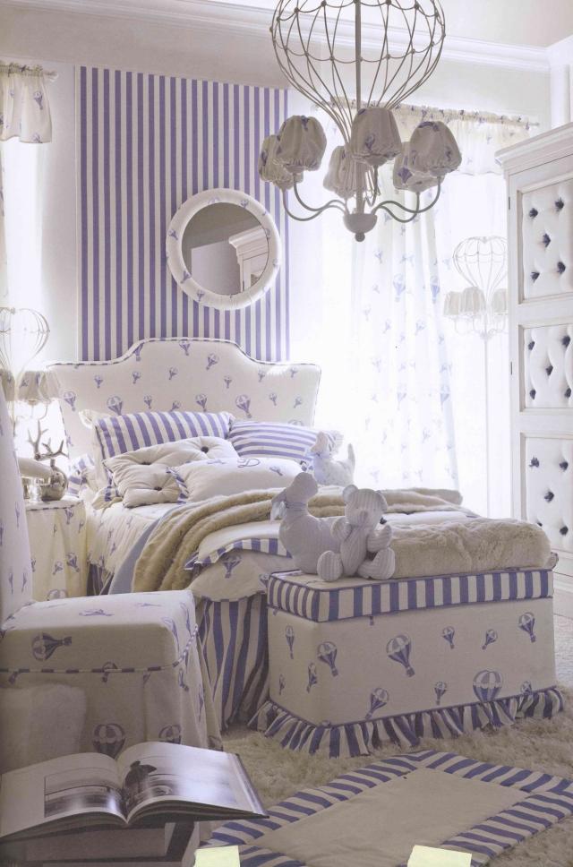 Chambre Bleu Fille