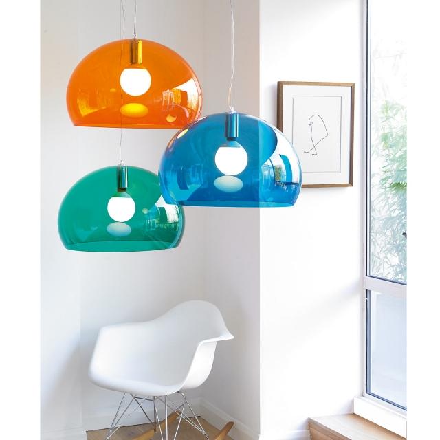Kartell Fly   Kartell Fl/y Suspension Lamp - Shop Online At ...