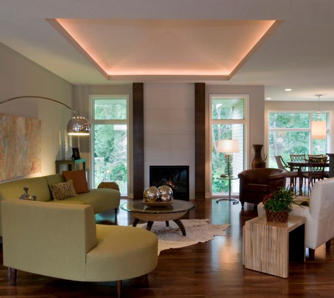 Eclairage Led Indirect Salon 38 Idées Originales D