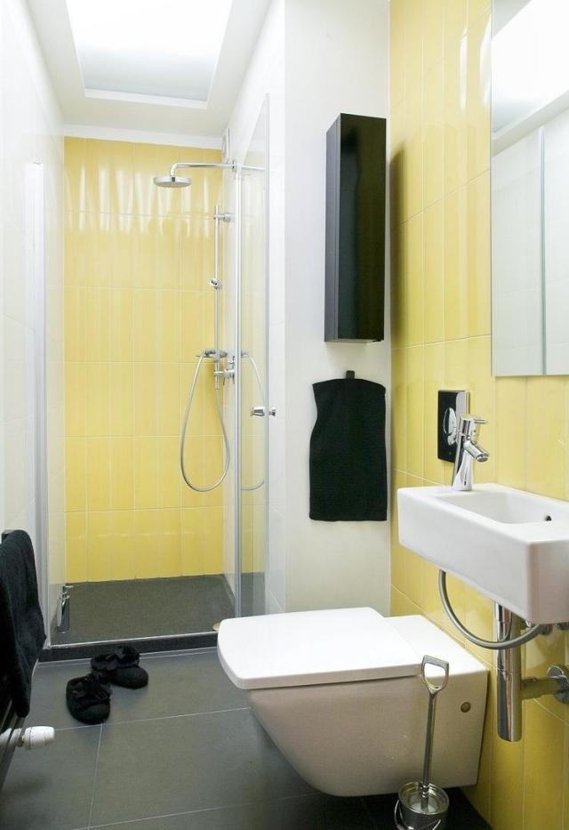 Idees Pour Petite Salle De Bain Avec Astuces Pratiques Sur Les Couleurs
