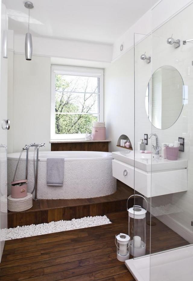 33 ides pour petite salle de bain avec astuces pratiques sur les couleurs