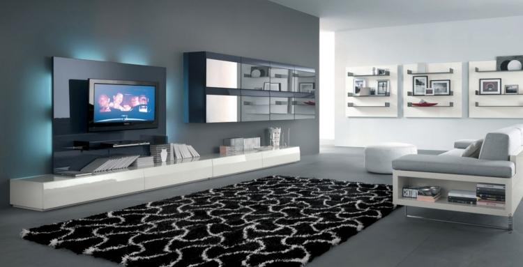 Style Et Luxe Dans Votre Salon Avec Un Meuble Tl Moderne