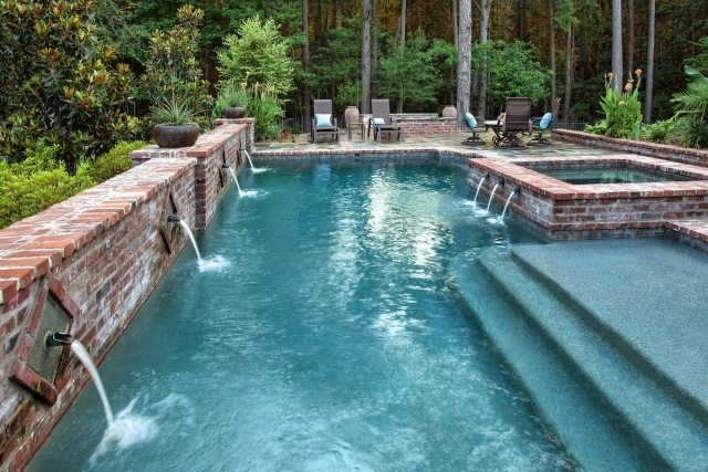 100 ides de piscine enterre pour espace repos magnifique