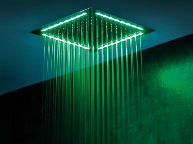 Robinetterie douche moderne  douche effet pluie par Webert