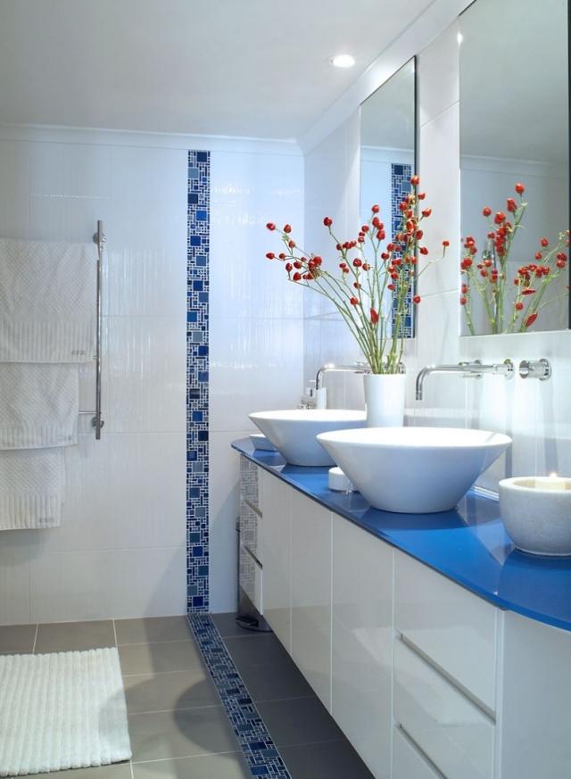 Mosaque salle de bain  esthtique avec plusieurs avantages