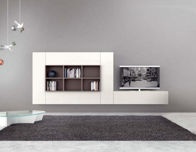 Meubles Design Meuble Tv Bibliotheque L - Cuisinebois