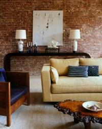 Brique de parement - 20 belles ides de dco murale originale