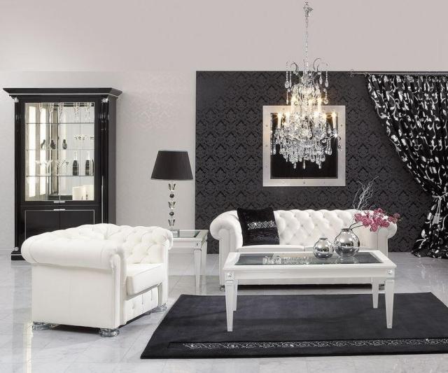 Canap et fauteuil Chesterfield  meubles classiques ternels