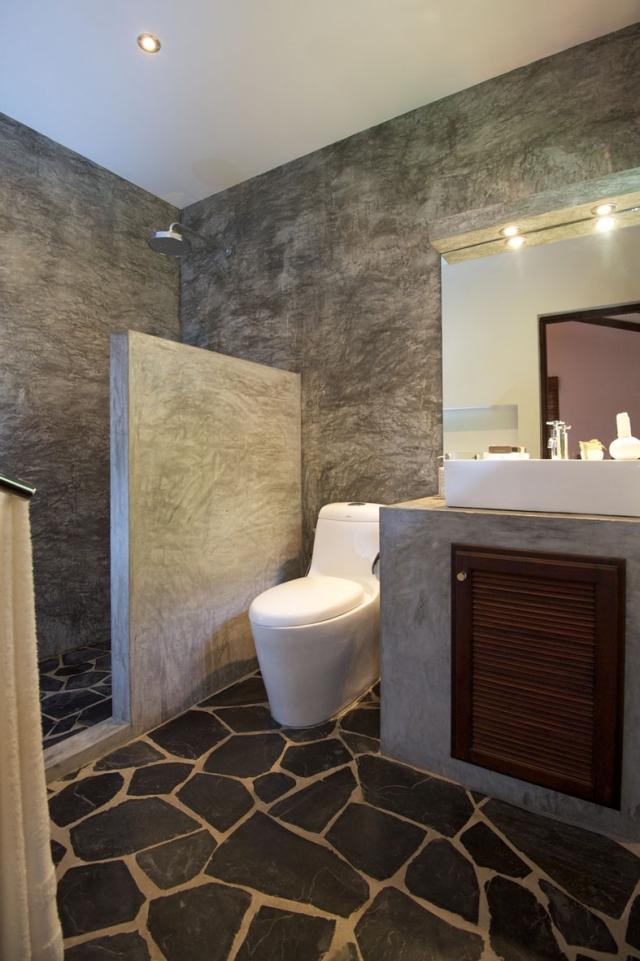 Dco de toilette  33 ides originales pour embellir lespace
