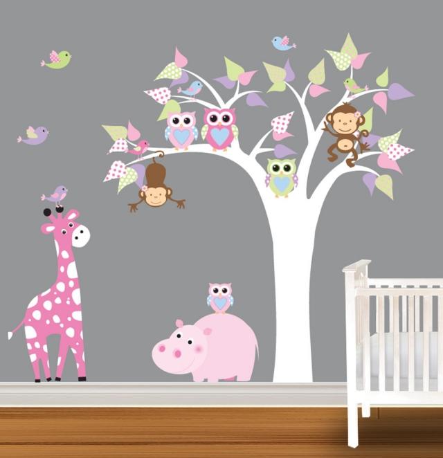 Dcoration chambre bb  31 ides originales thme hibou