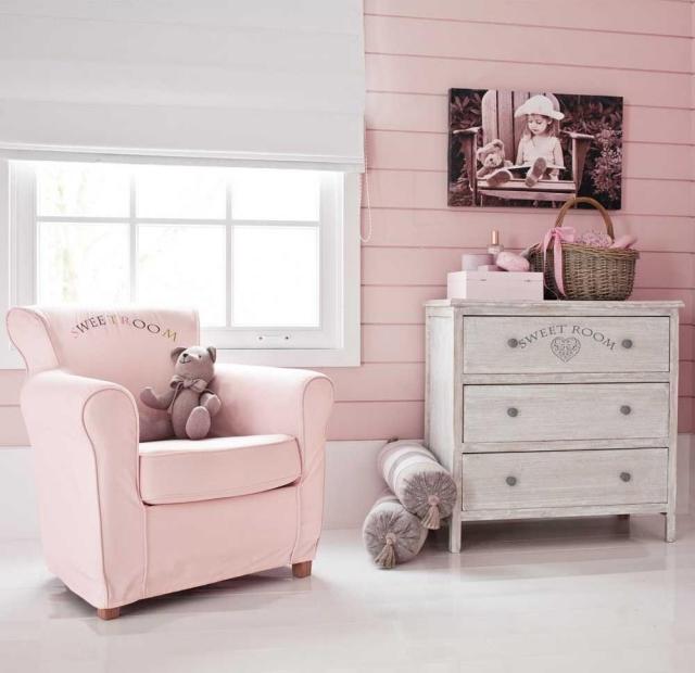 Chambre Vintage Fille