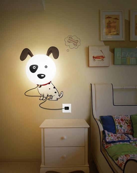 luminaire pour la chambre enfant 20