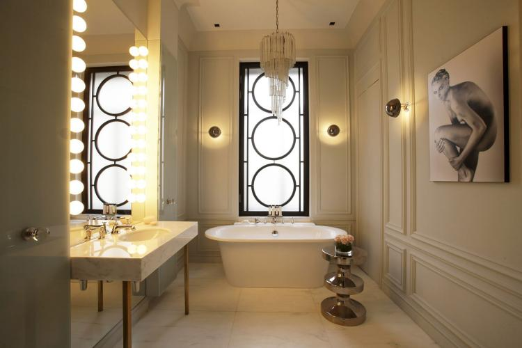 Luminaire salle de bains  30 belles photos et bons conseils