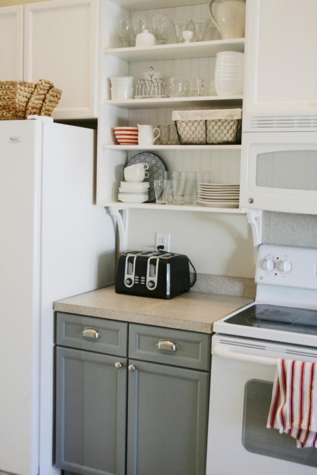 Meuble cuisine indpendant meubles de cuisine pin vieilli - Element cuisine independant ...