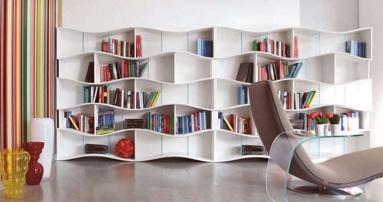 meuble salon rangement pratique livres