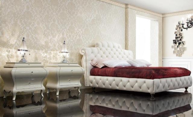Papier peint baroque  30 ides de luxe et exubrence