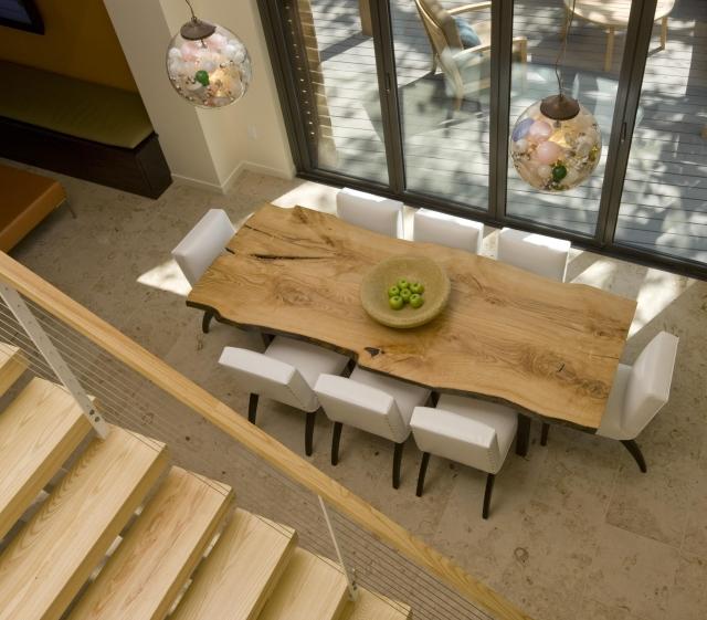 table salle a manger bois