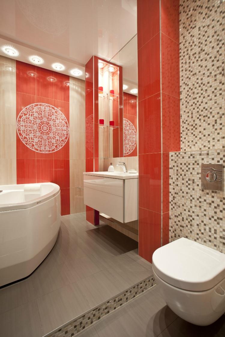 Decoration petite salle de bain sans fenetre for Salle de bain sans carrelage