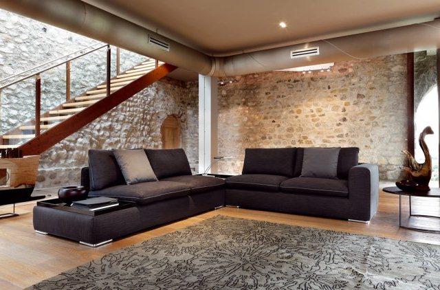 Canap Dangle Dans Le Salon Pour Plus De Confort La Maison