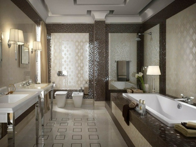 Carrelage salle de bains 30 ides inspirantes votre espace