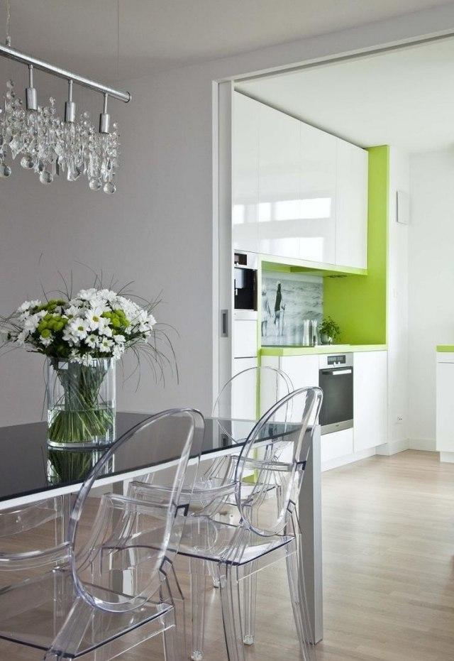 Armoires de cuisine blanches avec quels murs et crdence