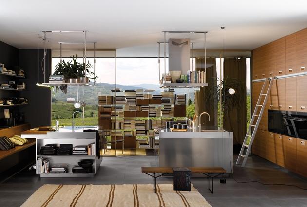 Cuisine de design italien en 34 ides par les top marques