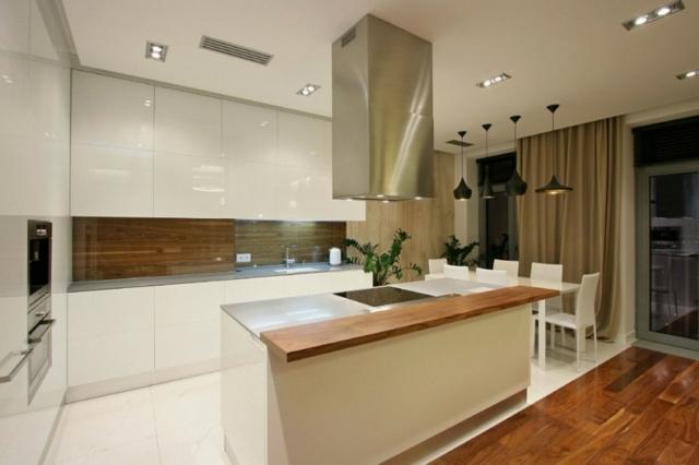 Faux Plafond Cuisine Ouverte | Claustra Interieur Claustra ...