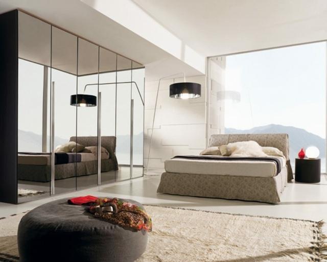 Garderobe de chambre  coucher pour optimiser rangement