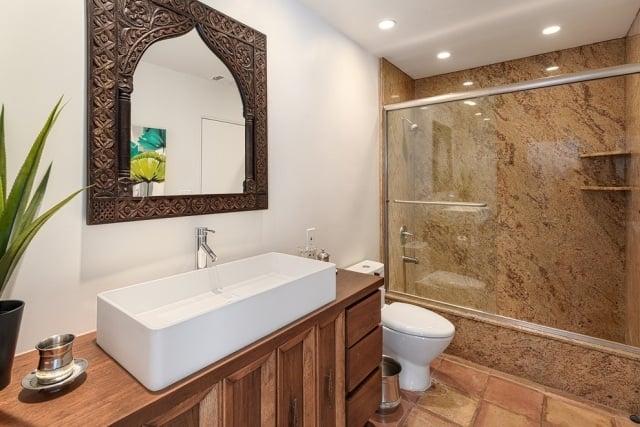 Ides dco salle de bains de style marocain