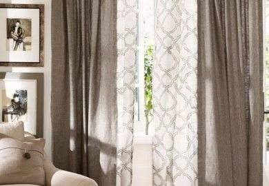 Grey And White Curtains Target