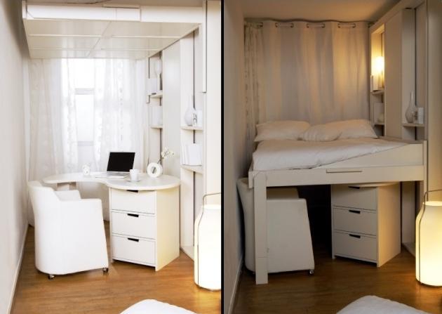Lit Mezzanine Adulte Pour Lamnagement Du Petit Appartement