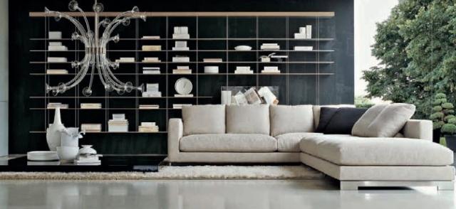 meuble de salon idee originale canape angle set meubles de salon moderne 35