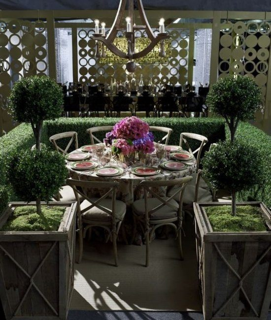 Meubles de jardin organiser un coin repas super en plein air