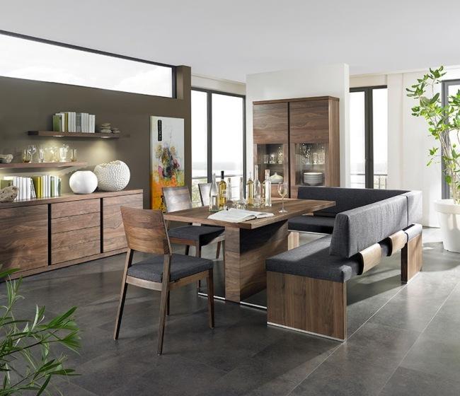 Mobilier salle  manger canapes table et bancs votre espace