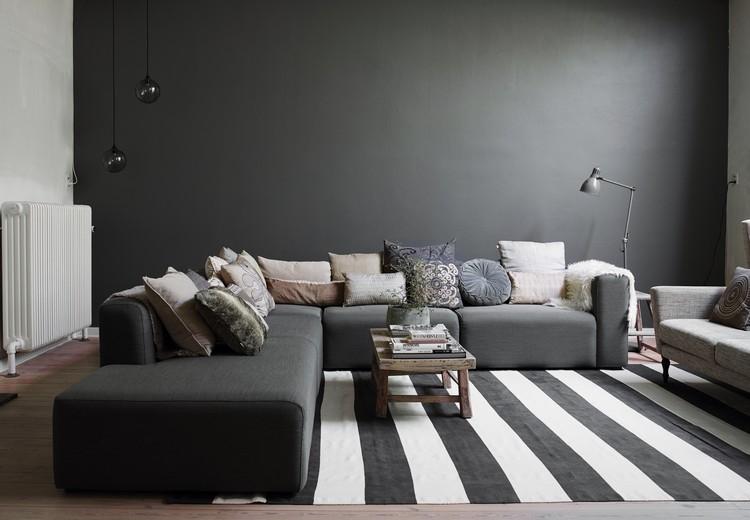 peinture salon grise le salon gris