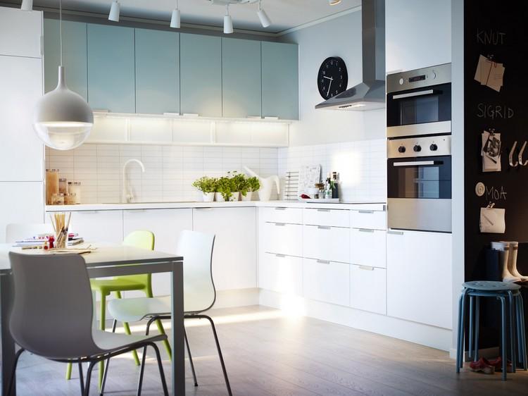 Petite cuisine moderne  quels meubles de cuisine ouverte