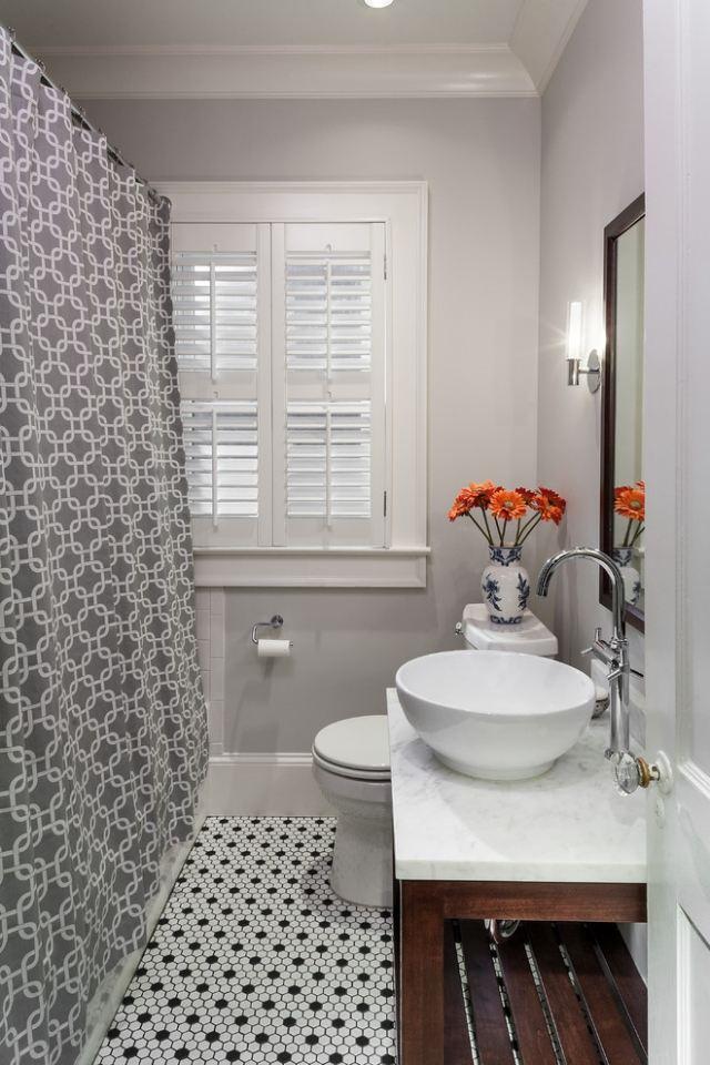 Petite Salle De Bain Et Toilettes Ides Sur La Dcoration