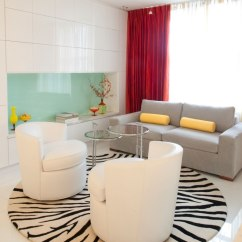 Red Sofa White Living Room Bronze Light Fixtures Tapis De Salon Moderne- Quelles Sont Les Tendances Actuelles?