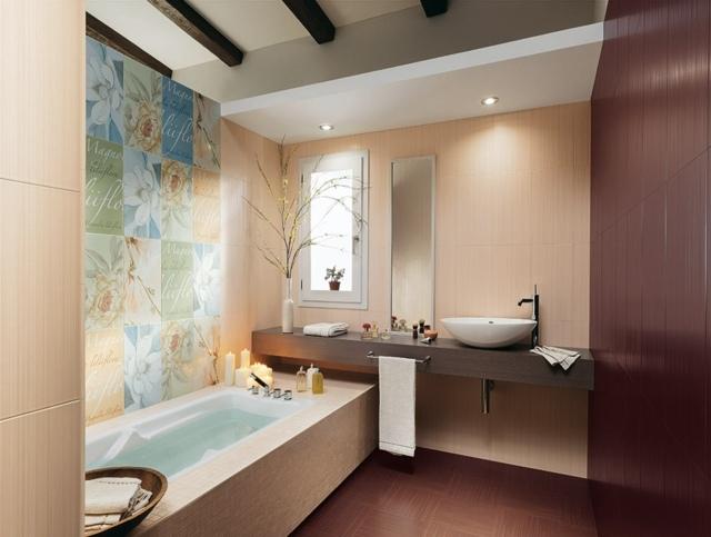 Carrelage Salle De Bain Bordeaux | Faïence Murale Mosaic ...