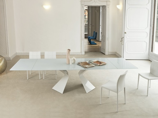 Design salle  manger en blanc optez pour la puret
