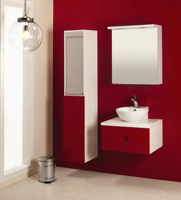 meubles salle de bains modernes en 105