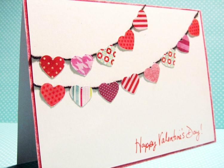 Carte De St Valentin Faire Soi Mme Pour Donner Du Bonheur