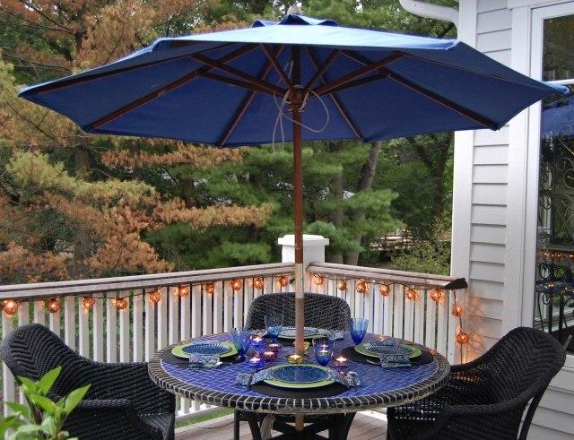 Parasol de balcon et terrassealternatives nouvelles flexibles