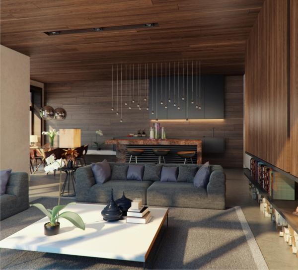 Salon moderne design en 47 ides par Alexandra Fedorova