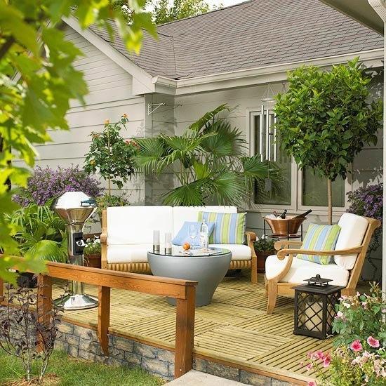 Terrasse en bois inspirezvous pour lenjoliver mieux