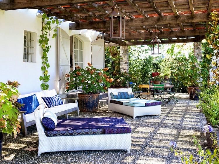 Amnagement extrieur 15 ides tendance de terrasse jardin